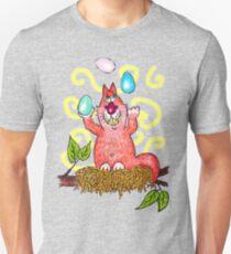 Easter Mischief - the egg-crobat Unisex T-Shirt