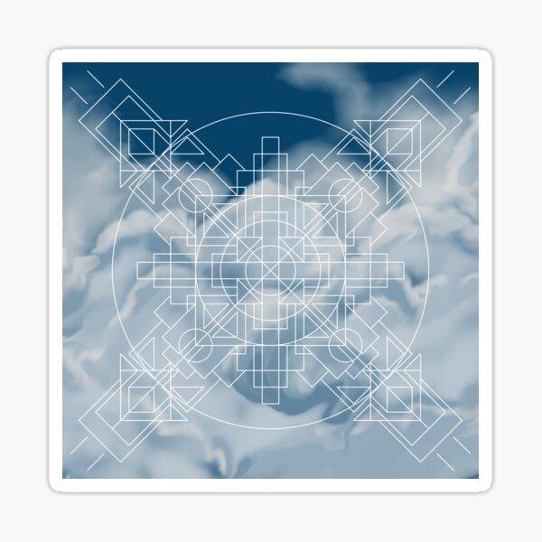 Symmetrically Abstract [Light] Sticker