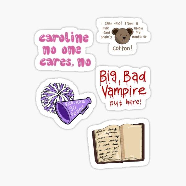 Damon sticker pack Sticker