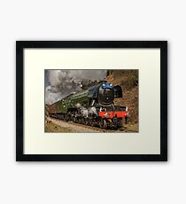The Flying Scotsman Framed Print