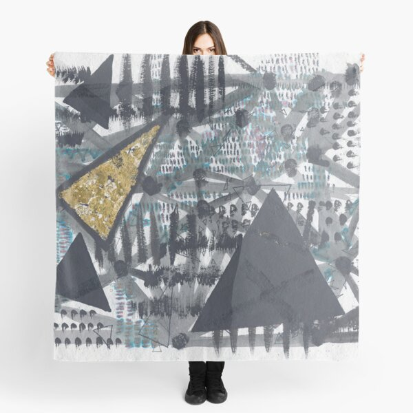 Golden Triangle : Abstract Scarf