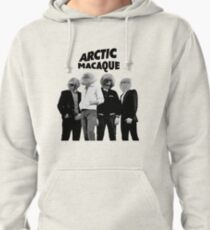 Arctic Macaque Pullover Hoodie