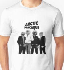 Arctic Macaque Unisex T-Shirt