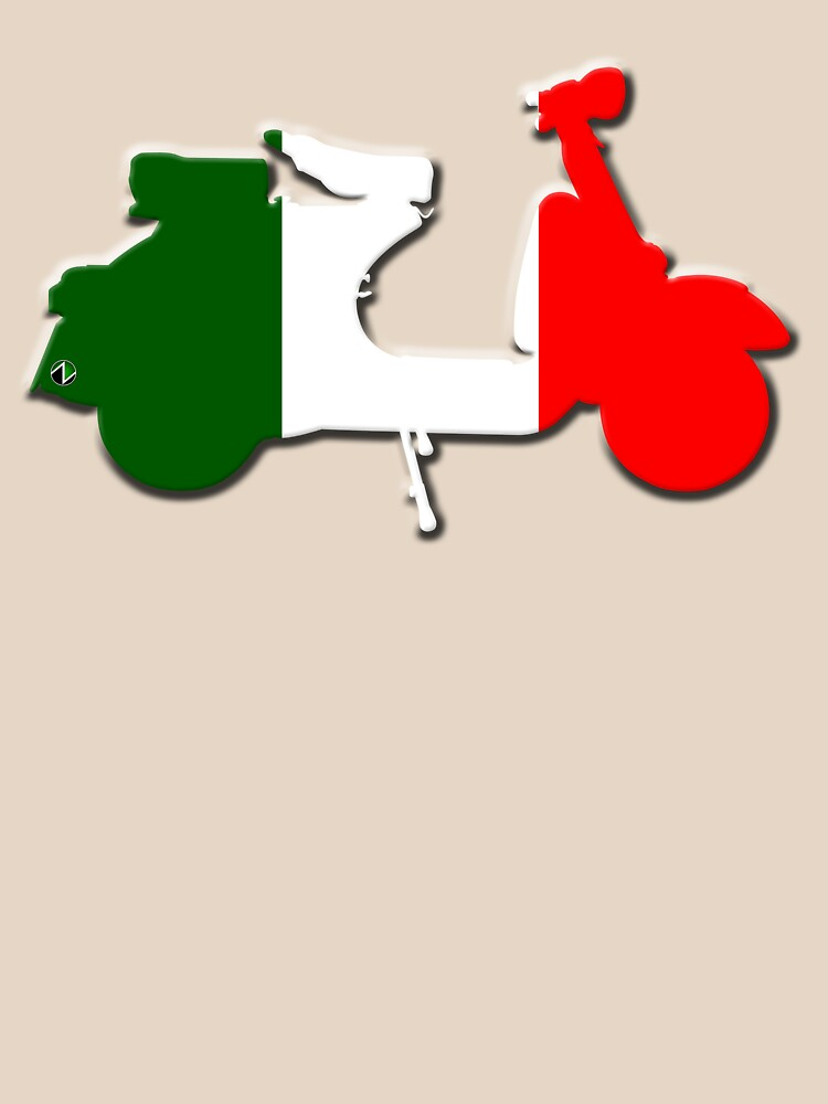 TShirtGifter presents: Vespa Italia | Unisex T-Shirt