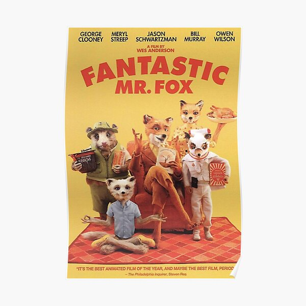 Mr Foxy and his Family Poster
