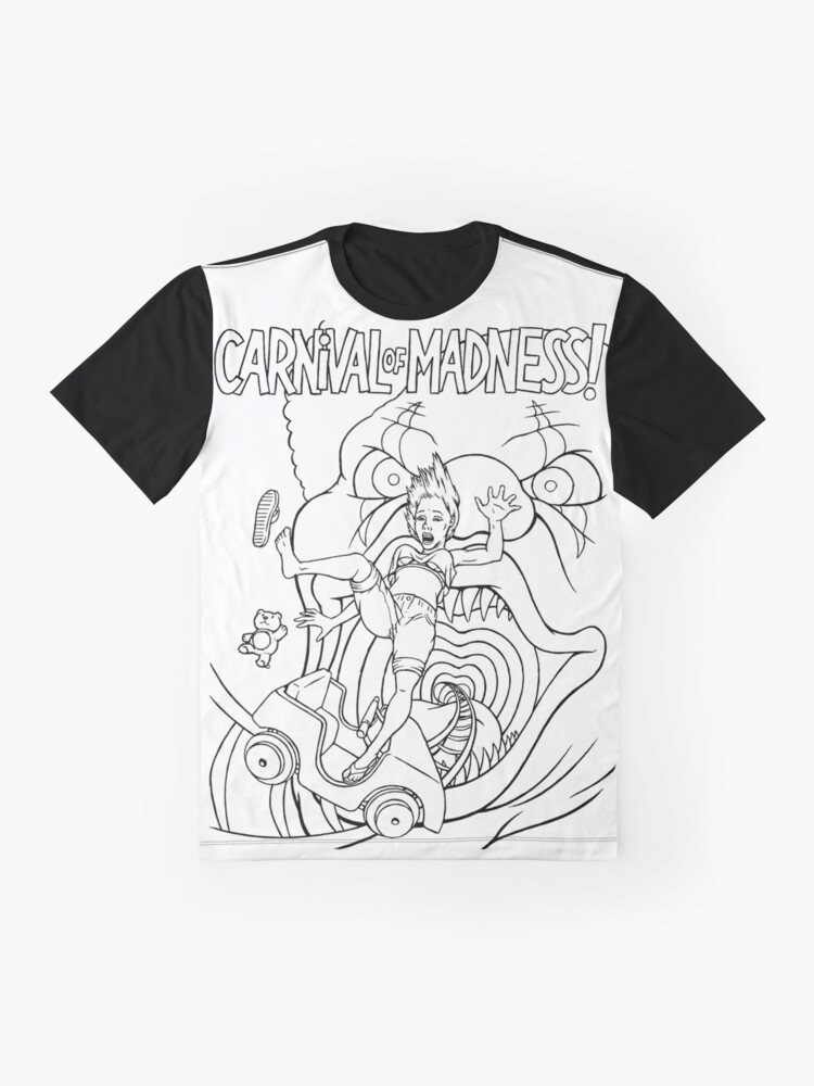 Alternate view of Carnival of MADNESS Graphic T-Shirt
