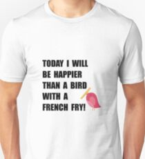 Bird With French Fry T-Shirt