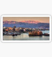 Heraklion Sunrise Sticker