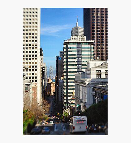 Streets of San Francisco Photographic Print