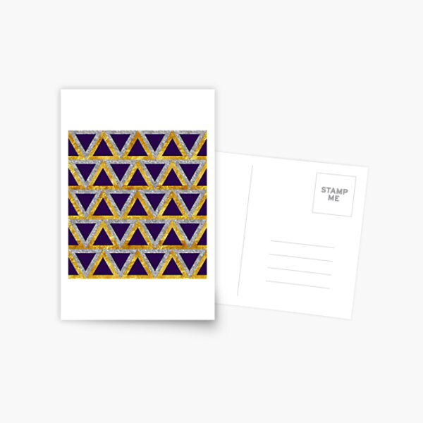Night of the Pharaohs - Egyptian Inspired Pattern Postcard