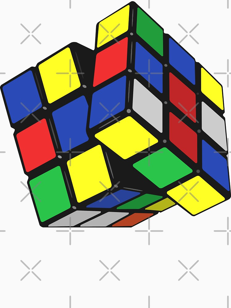 rubiks cube by MickyDeeTees