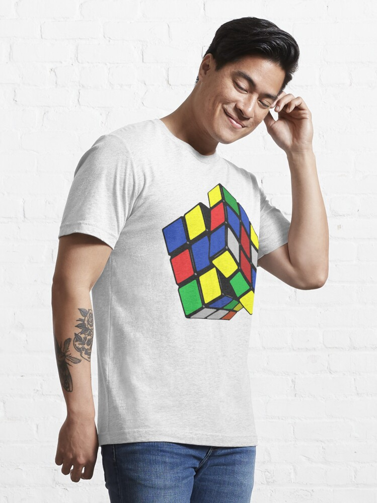 Alternate view of rubiks cube Essential T-Shirt