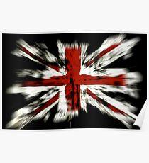 UK Flag England Poster