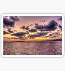 Sunrise in the Aegean Sticker