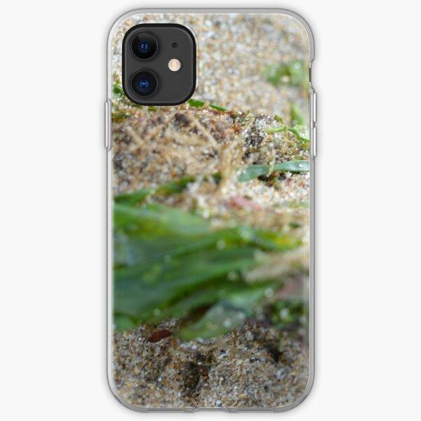Green seaweed iPhone Soft Case