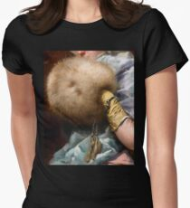 Woman With A Fur Muff, Spanish Old Master painting T-Shirt