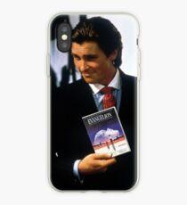 Neon genesis evangelion american psycho iPhone Case