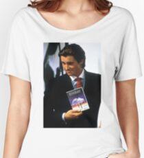 Neon genesis evangelion american psycho Women's Relaxed Fit T-Shirt