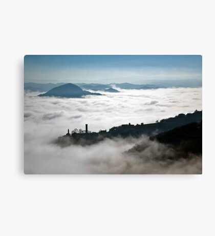 Denice in the mist Canvas Print