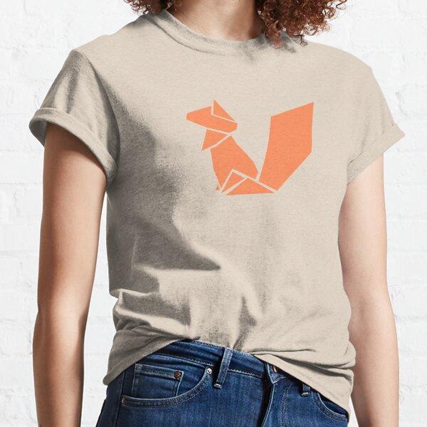 Origami Squirrel illustration Classic T-Shirt