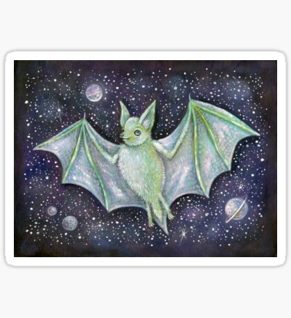 Space Bat  Sticker