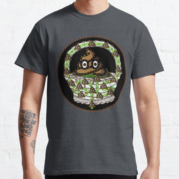 Sh!t in a Handbasket? Fear Not! (Playful Art) Classic T-Shirt