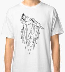 polygonal wolf  Classic T-Shirt