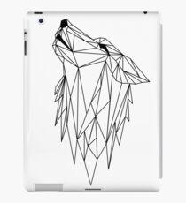 polygonal wolf  iPad Case/Skin