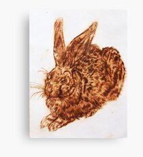 Bunny print v.2 Canvas Print