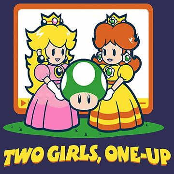 Mario Bros. Two Girls, One Up  by RHAbstraction