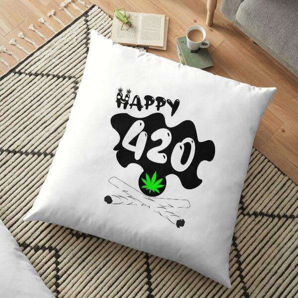 Marijuana 420 Floor Pillow