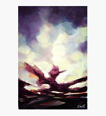 Shattered shades of sky Photographic Print