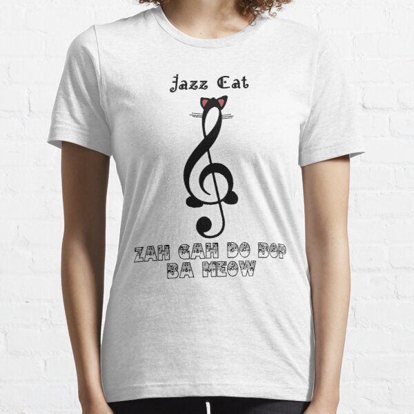The Jazz Cat Sings Essential T-Shirt
