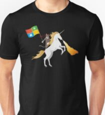 Ninja Cat Einhorn Slim Fit T-Shirt