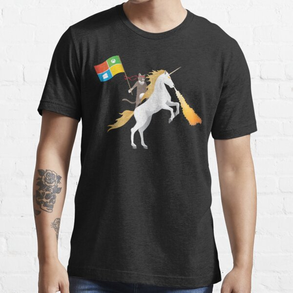 Ninja Cat Unicorn Essential T-Shirt