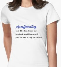 procaffeinating coffee procrastination caffeine T-Shirt