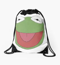 Kermit The Frog Drawstring Bag