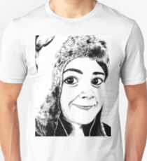Girl portrait Unisex T-Shirt