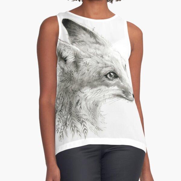 A Young Fox Sleeveless Top