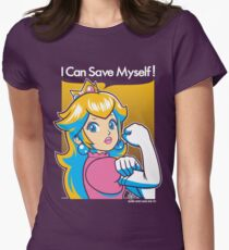 Save Myself Womens Fitted T-Shirt