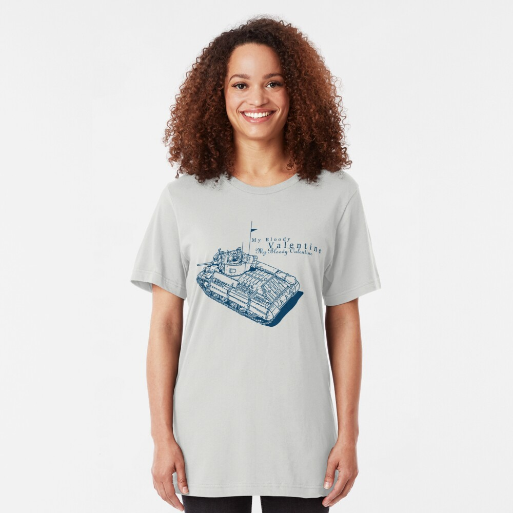 Valentine Tank Slim Fit T-Shirt