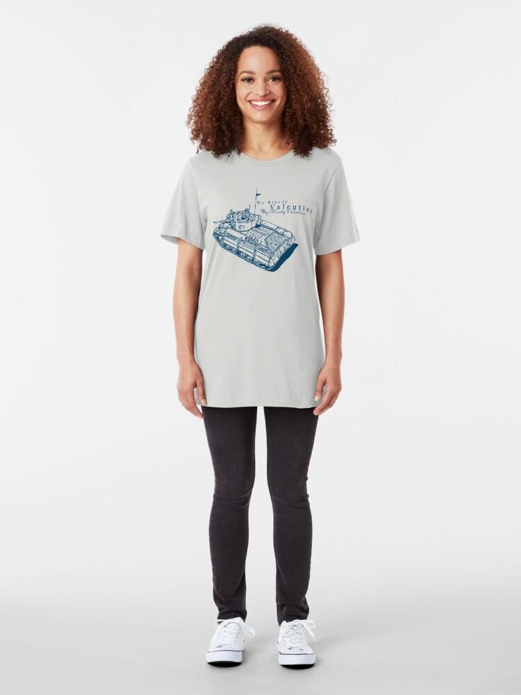 Alternate view of Valentine Tank Slim Fit T-Shirt