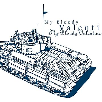 Valentine Tank by b24flak