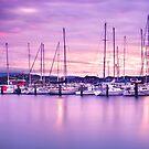 Evans Bay Marina Sunrise by SeeOneSoul