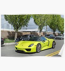 Acid Green 918 Spyder Poster