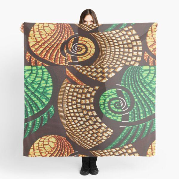 African Textile Pattern Scarf