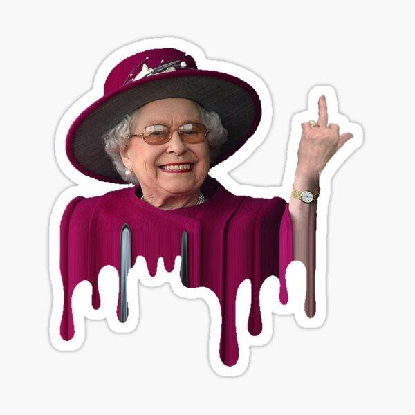 Reine Elizabeth Pimpin Sticker