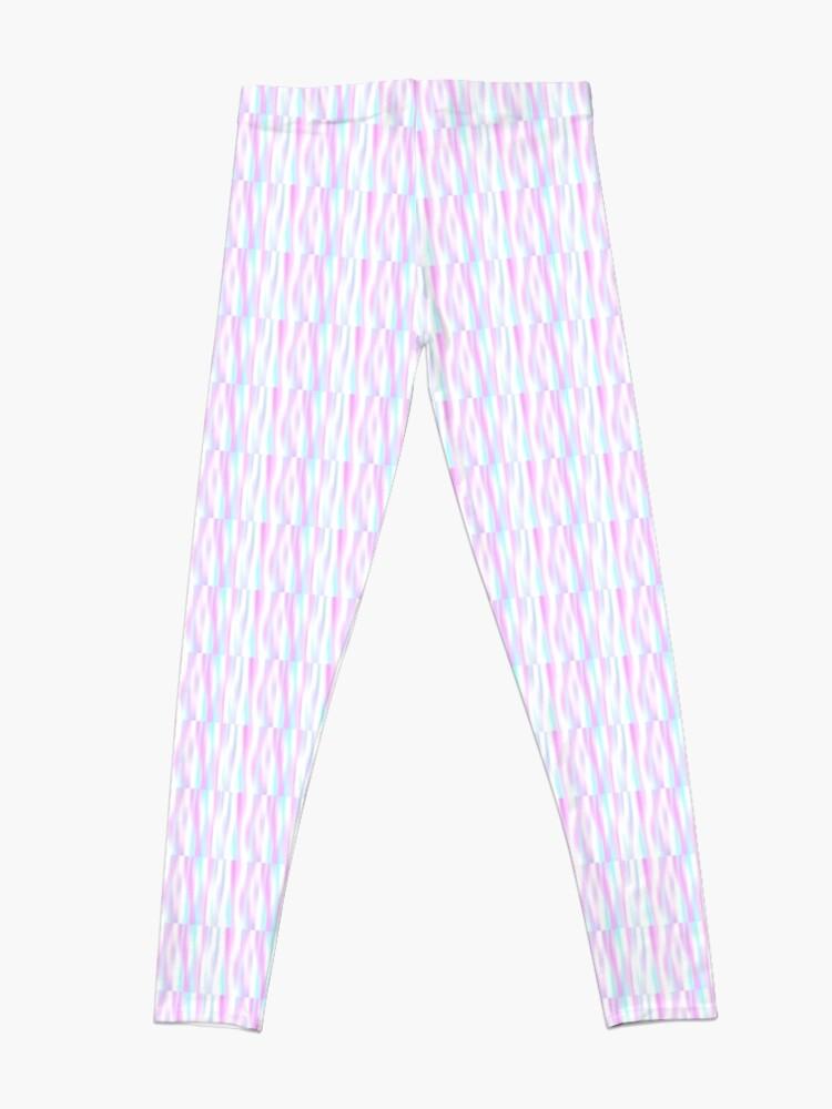 Alternate view of Pastel Stripes Leggings