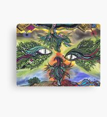Dragon Eyes Canvas Print