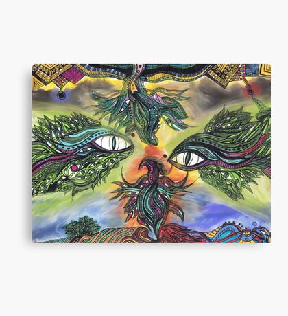 Dragon Eyes Canvas Print